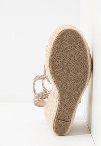 BEBO - TWINKLE - Sandaler med høye hæler - nude - 6