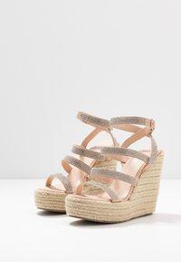 BEBO - TWINKLE - Sandaler med høye hæler - nude - 4