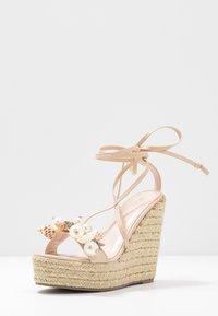 BEBO - RIAN - Sandaler med høye hæler - nude - 4