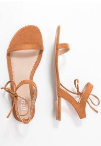 BEBO - MISSIE - Sandals - dark beige - 3