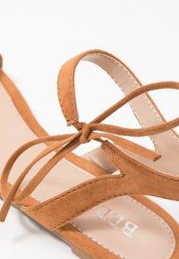 BEBO - MISSIE - Sandals - dark beige - 2
