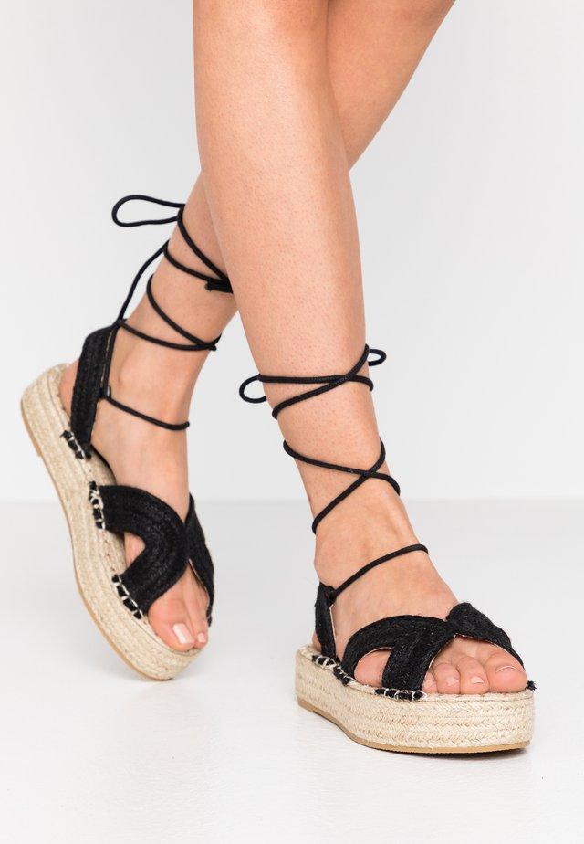 CREDA - Loafers - black