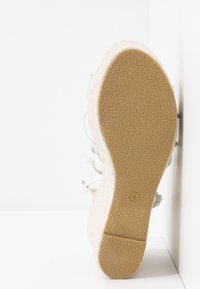 BEBO - SANDIE - Sandales à talons hauts - white - 6