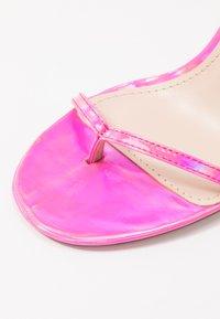 BEBO - VENZA - Sandały - pink - 2