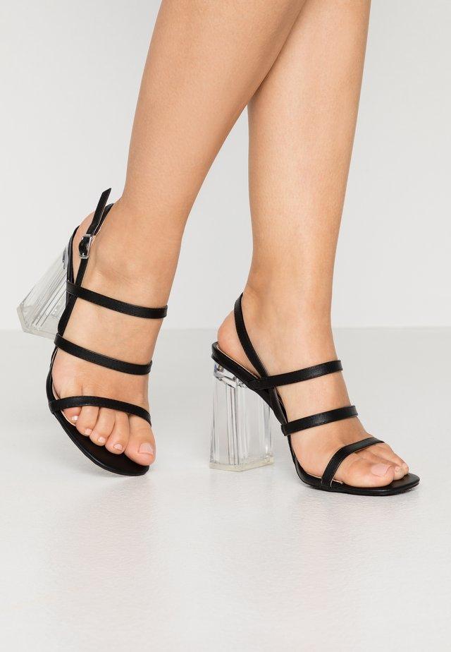 KIANNI - Højhælede sandaletter / Højhælede sandaler - black