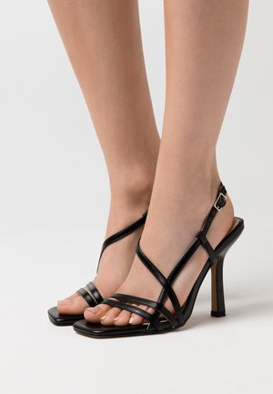 BEKKIE - High heeled sandals - black