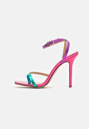 TREVIA - Sandales à talons hauts - pink/multicolor