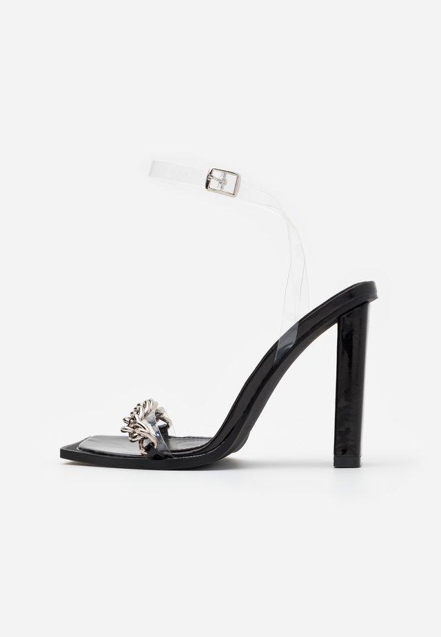 Sandaletter - clear/black