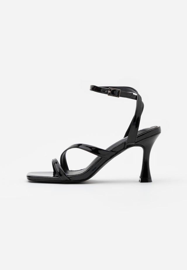 BRYNA - High heeled sandals - black