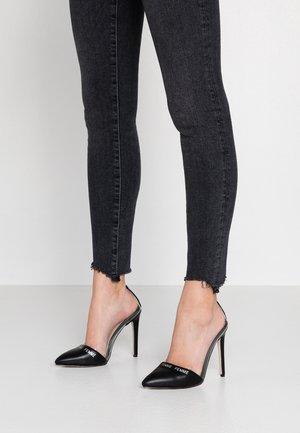 ELANA - Lodičky na vysokém podpatku - black