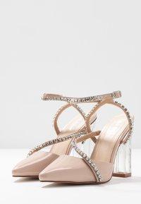 BEBO - NEIL - Zapatos altos - nude - 4