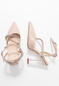 BEBO - NEIL - Zapatos altos - nude - 3