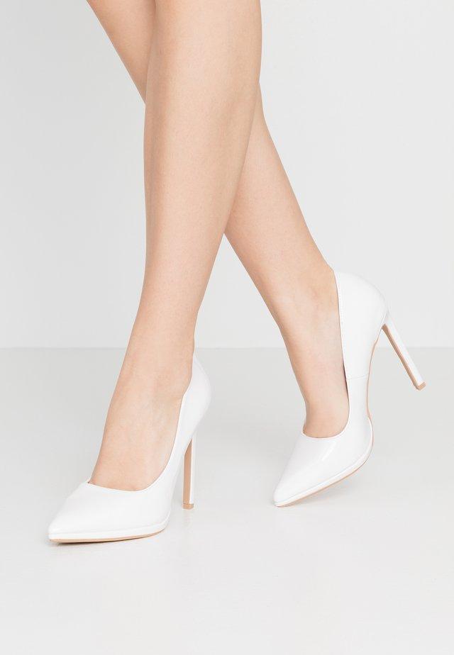 MELINA - Høye hæler - white