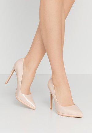 MELINA - Zapatos altos - nude