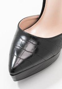 BEBO - MARLENE - Zapatos altos - black - 2