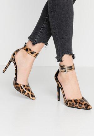 RAPHAEL - High heels - tan
