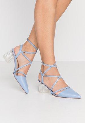 STUSH - Zapatos de salón con cordones - blue