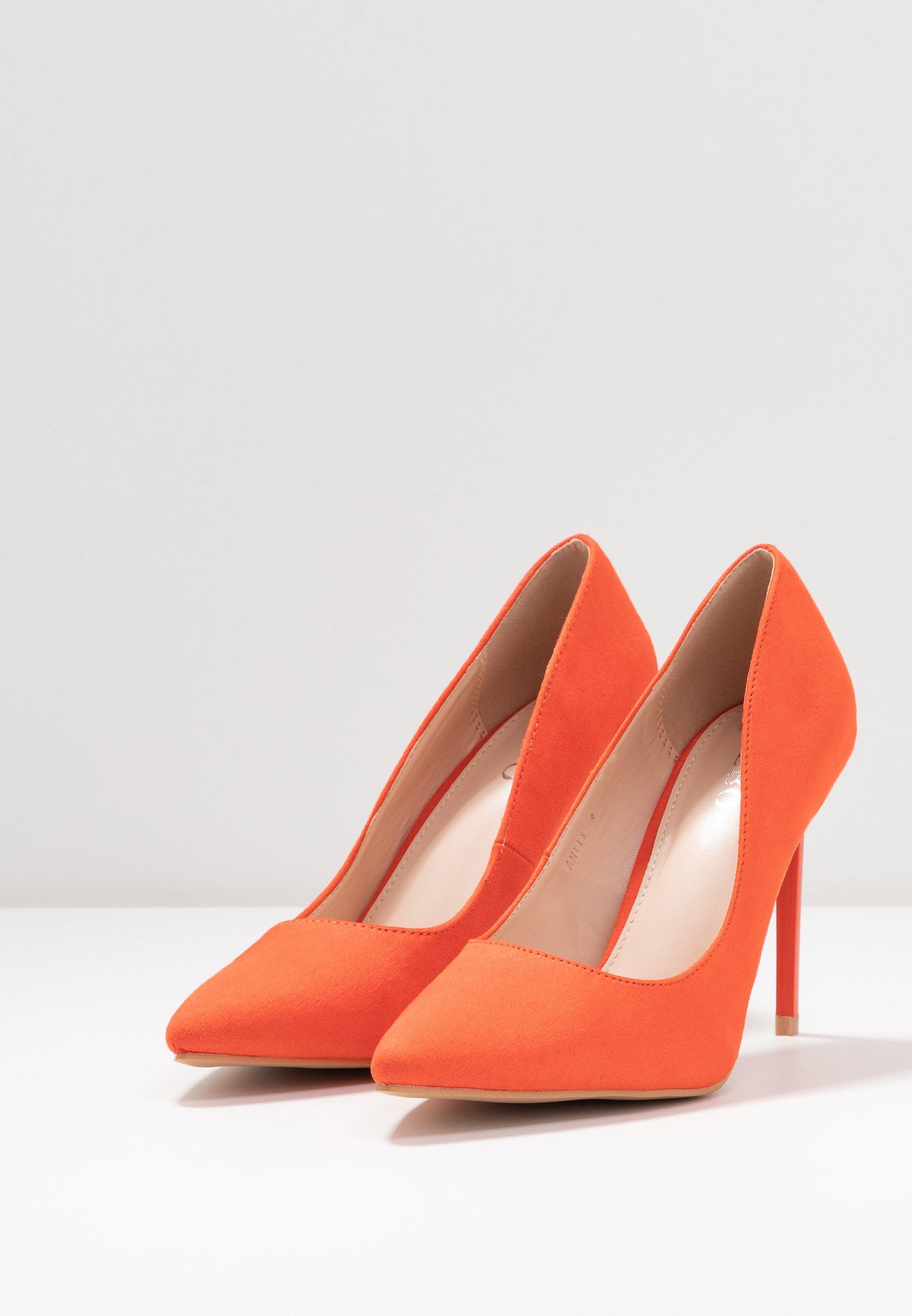 Bebo Antix - Hoge Hakken Orange Goedkope Schoenen