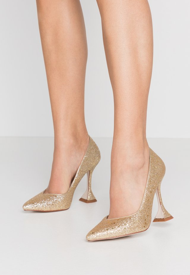 MONICA - High Heel Pumps - gold glitter