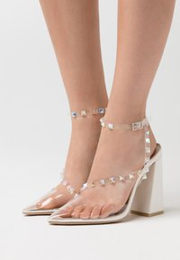 BEBO - RUHANA - Zapatos altos - clear/white - 0