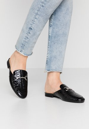 NANCY - Mules - black