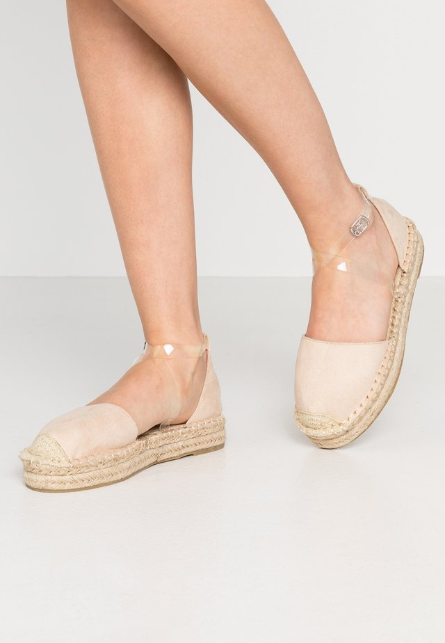 VIOLA - Loafers - clear/nude