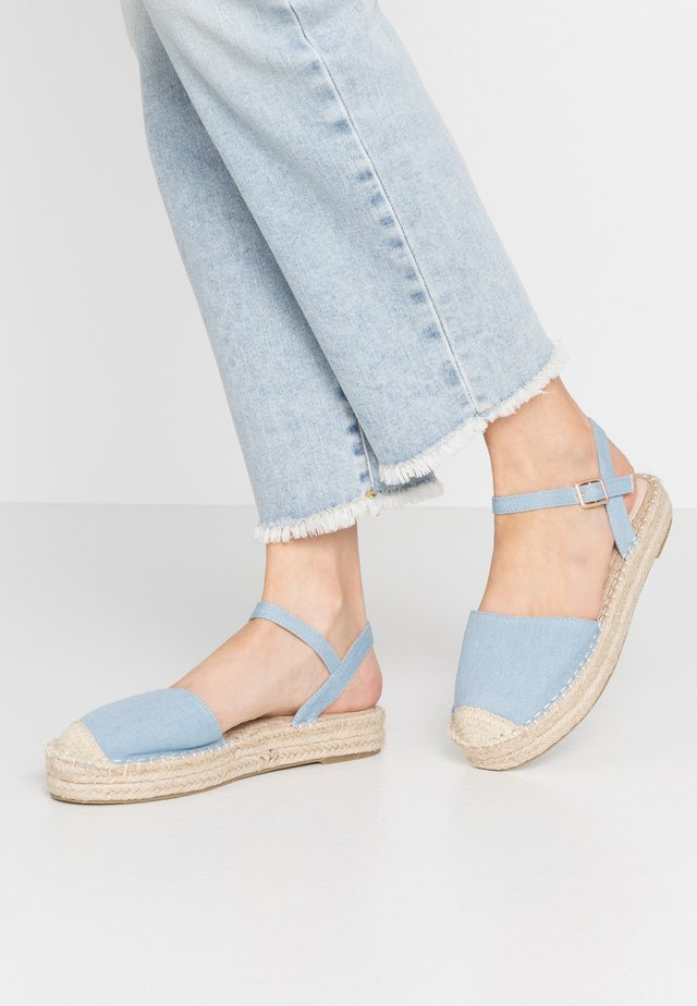 BIANCA - Espadrille - blue denim