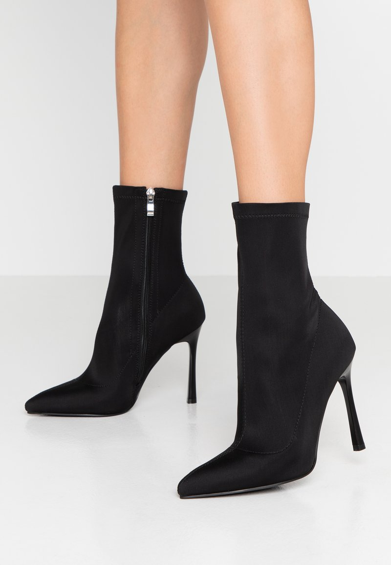 BEBO - TRINNIE  - High heeled ankle boots - black