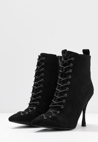 BEBO - LEGACY - High heeled ankle boots - black - 4