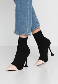 BEBO - PAYTON - High heeled ankle boots - black - 0