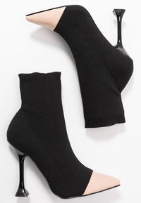 BEBO - PAYTON - High heeled ankle boots - black - 3