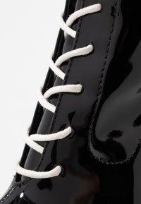 BEBO - LUNA - Højhælede støvletter - black - 2