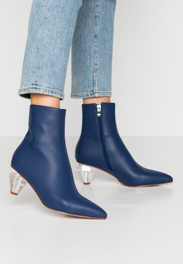 DRIZELLA - Classic ankle boots - blue