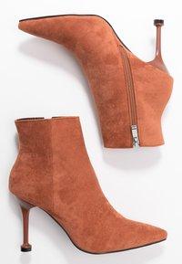 BEBO - IRENEE - High heeled ankle boots - tan - 3