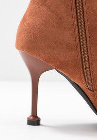 BEBO - IRENEE - High heeled ankle boots - tan - 2