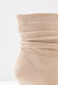 BEBO - LOGIC - High heeled ankle boots - nude - 2