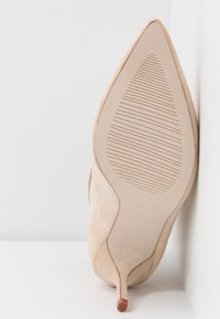 BEBO - LOGIC - High heeled ankle boots - nude - 6