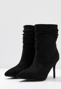 BEBO - LOGIC - High heeled ankle boots - black - 4