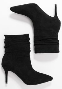 BEBO - LOGIC - High heeled ankle boots - black - 3