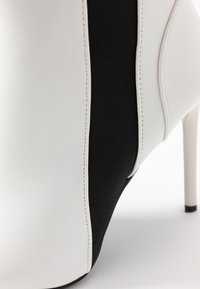 BEBO - AXELLE - High heeled ankle boots - white - 2