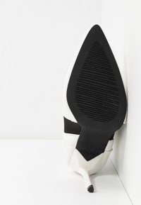 BEBO - AXELLE - High heeled ankle boots - white - 6
