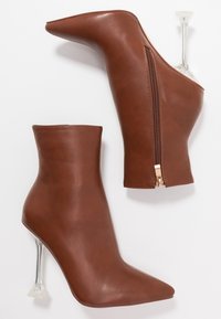 BEBO - WINONA - High heeled ankle boots - tan - 3