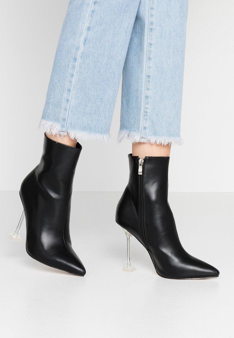 BEBO - WINONA - High heeled ankle boots - black