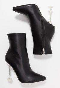 BEBO - WINONA - High heeled ankle boots - black - 3