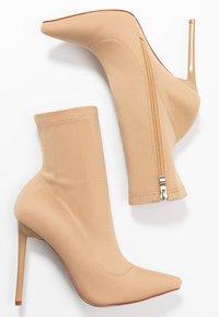 BEBO - JOHANNA - High heeled ankle boots - nude - 3