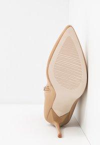 BEBO - JOHANNA - High heeled ankle boots - nude - 6