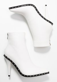 BEBO - CATHY - High heeled ankle boots - white - 3