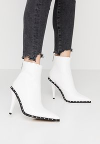 BEBO - CATHY - High heeled ankle boots - white - 0
