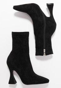 BEBO - NOAH - High heeled ankle boots - black - 3