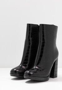 BEBO - ARTHUR - High heeled ankle boots - black - 4